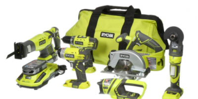 $199 (was $299) 18-Volt ONE+ Lithium-Ion Ultimate Combo Kit (6-Tool)