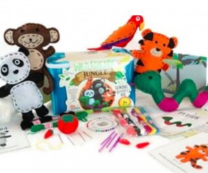 $19.99 Sewing and Craft Activity Kit for Children