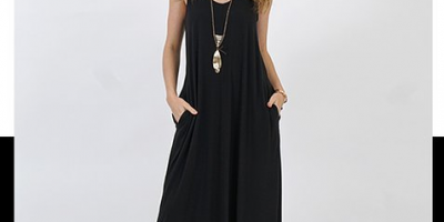 $16.79 (was $78) Sleeveless Maxi