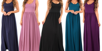 $14.99 (was $84) Ruched Maxi Dress