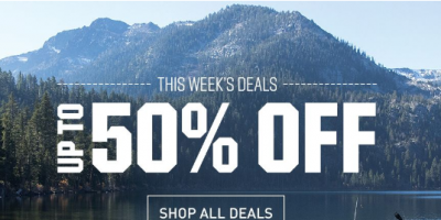 Up To 50% Off At Dick's Sporting Goods