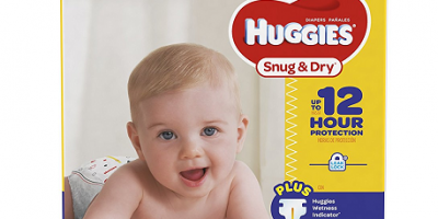 Huggies Snug And Dry Size 2, 104 ct