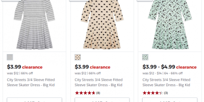Starting At $3.99 JCPenney Girls Dress Clearance Sale