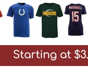 HUGE Team T-Shirt Clearance!  Prices start at $3.96!