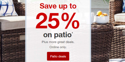 Patio Sale At Target