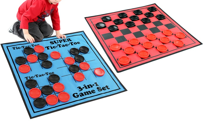 $13.99 (was $40) 3-in-1 Reversible Game Mat