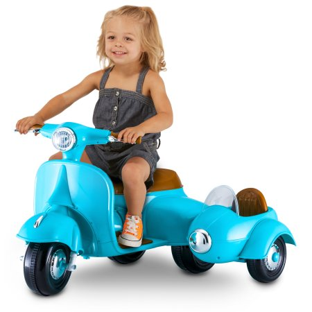 $49 (was $99.97) 6-Volt Scooter with Sidecar by Kid Trax