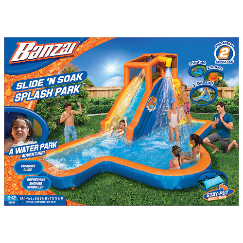 $188.30 (was $599.99) Banzai Slide 'N Soak Splash Park And Get Kohl's Cash!