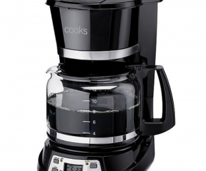 $11.24 (was $40) Cooks 12-Cup Programmable Coffee Maker