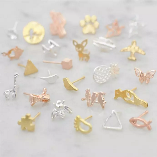 $3.45 (was $12.99) Dainty Stud Earrings