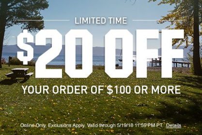 $20 Off $100 At Dick's Sporting Goods