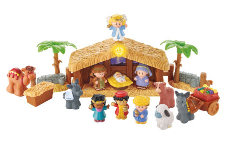 $36.99 (was $79.99) Fisher-Price Little People Christmas Story