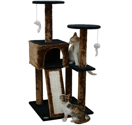 $39.99 (was $69) Go Pet Club Kitty Cat Tree with Ramp