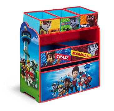 Price Drop! Multi-Bin Toy Organizer, Nick Jr. PAW Patrol
