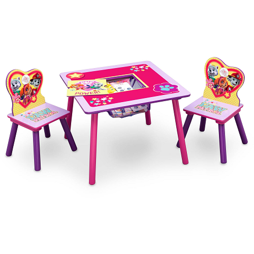 $25.99 (was $49.99) Paw Patrol Table and Chair Set