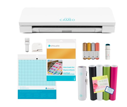 Silhouette CAMEO 3 Craft Bundle: $183.99