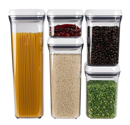 OXO Good Grips 5-Piece Airtight Food Storage POP Container up to 30% Off!