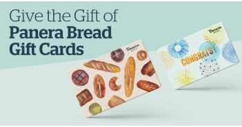 Buy $50 in Panera Gift Cards, Get $10 Free!