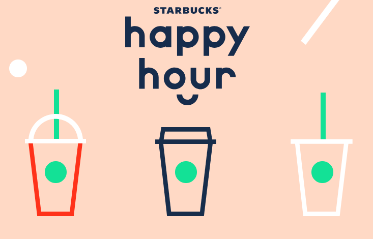 HALF PRICE Frappuccinos at Starbucks Today!