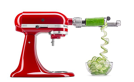 KitchenAid Spiralizer Attachment with Peel, Core, and Slice up to 42% Off!