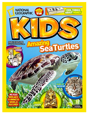 National Geographic Kids: $15.00 (was$39.50)