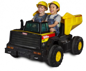 $199 (was $349): Tonka Mighty Dump Truck 12-Volt Battery-Powered Ride-On