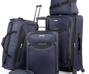 $59.99 (was $200) Springfield III 5 Piece Luggage Set (Today Only)