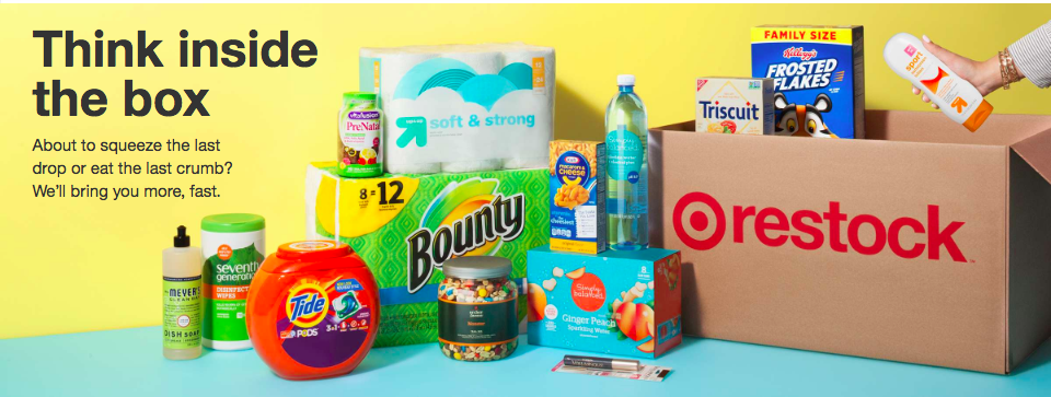 Target Restock: A New Competitor to Amazon's Prime Pantry