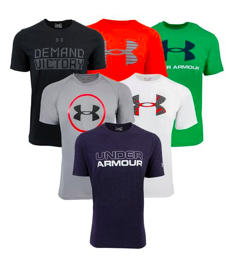 3-Pack of Under Armour T-Shirts just $32!