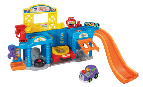Price Drop! VTech Go! Go! Smart Wheels Auto Repair Center Playset