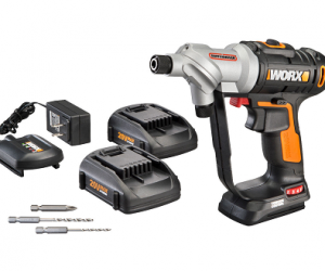$59.99 (was $139.99) WORX 20V Switchdriver Cordless Drill & Driver