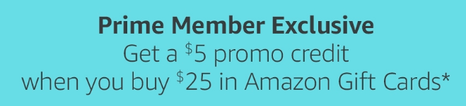 Amazon Gift Card Deal Prime Day