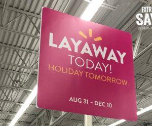 Walmart layaway 2018