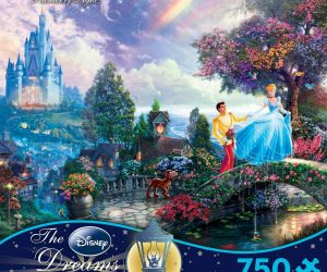 Cinderella Wishes Upon a Dream Puzzle: $10.29 (was $12.99)