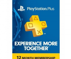 $49.99 (was $59.99) Sony PlayStation Plus 1 Year Membership