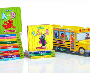 $19.99 (was $63.84) Sesame Street ABCs and 123s 16-Book Bus