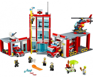 LEGO City Fire Station: $74.99 (was $99.99)