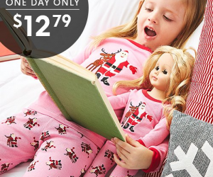 $12.79 (was $24.99+) Matching Girls & Doll  PJ's