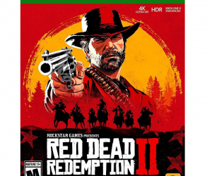 $47.99 (was $59.99) Red Dead Redemption 2 – Xbox One