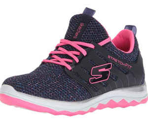Skechers Kids Girls' Diamond Runner-Sparkle Sprint Sneaker: $11.99 (was $22.16)