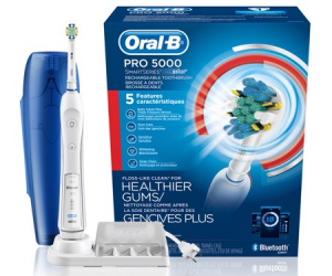 $67.45 (was $129.99): Oral-B 5000 SmartSeries Electric Toothbrush