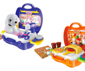 $13.99 (selling for $18+ other stores) World Tech Toys Activity Suitcase Play Set