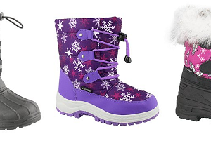 $13.79 (was $21.99+) Transco Kids & Baby Snow Boots