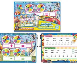 Board Dudes Dry Erase Addition and Subtraction Learning Mat: $7.19 (was $11.95)