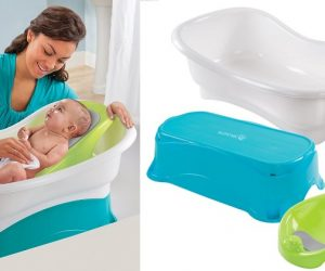 Summer Infant Comfort Height Bath Tub: $21.49 (was $29.99)