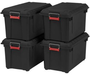 4-pack Remington 82 Quart WEATHERTIGHT Storage Box: $55.75 (was $114.99)