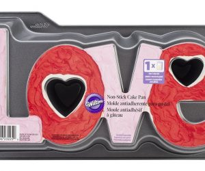 Wilton Non-Stick Love Cake Pan: $4.99 (was $8.99)