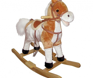 Charm Co Buttercup Pony w Moving Mouth & Tail: $33.64 (was$67.25)