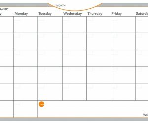 WallMates Self-Adhesive Dry Erase Monthly Planning Surface, 18 x 12: $8.99 (was$18.09)