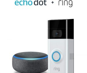 Ring Video Doorbell 2 with Echo Dot (3rd Gen) – Charcoal: $179.00 (was$248.99)